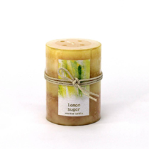 This delicious candle offers a sparkling combination of Italian lemon, orange and verbena infused with white sugar and litsea. Lead and tin free cotton wick. Burn Time: 60 Hours.